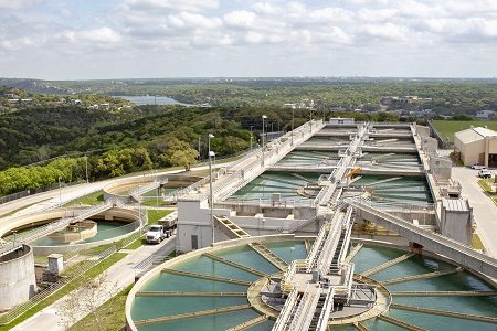 Austin Water treatment plants