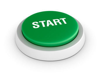 Image of a green start button